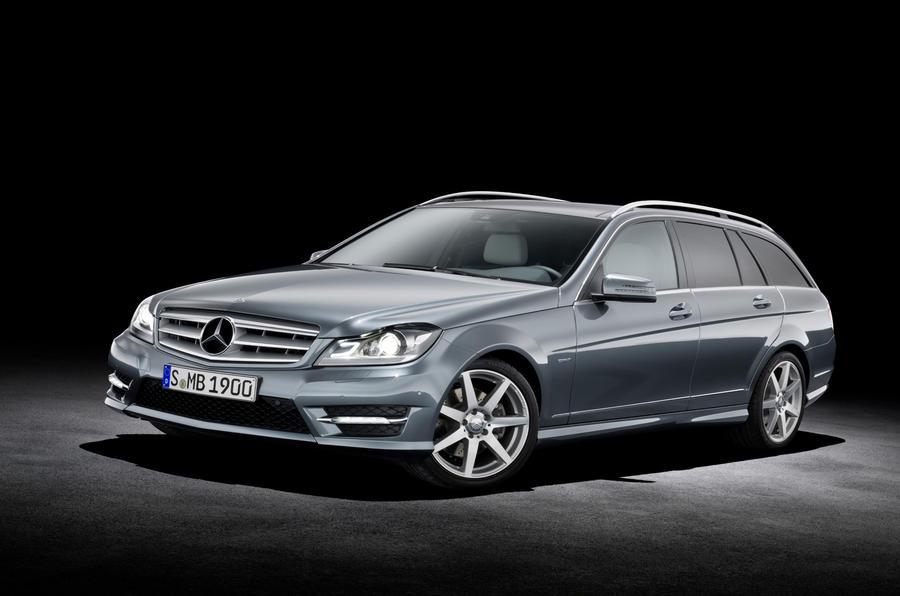 Geneva motor show: Merc C-class facelift