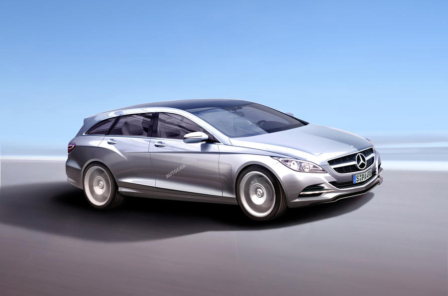 Radical Merc CLS estate planned