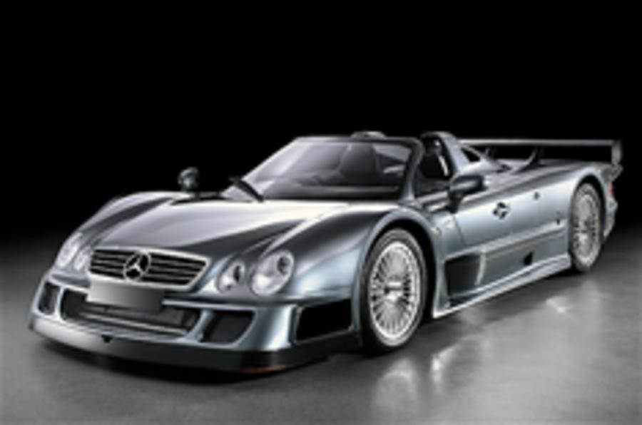 CLK GTRs sell for £1.1m