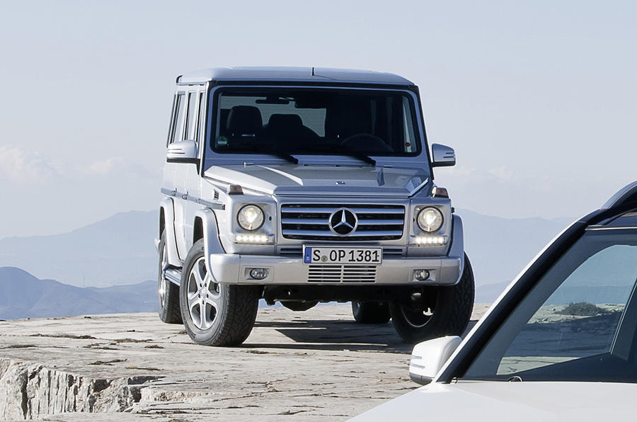 Mercedes G-class to get V12 power