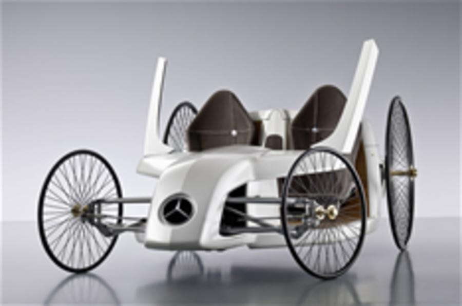 Mercedes' fuel cell concept