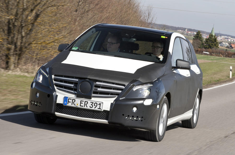 New Mercedes B-class exclusive