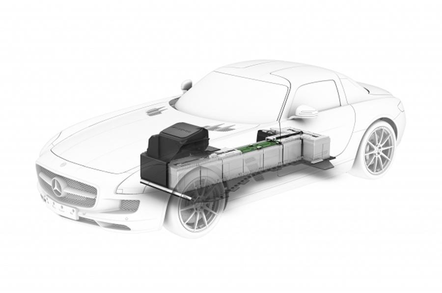 Merc reveals SLS E-Cell's drivetrain