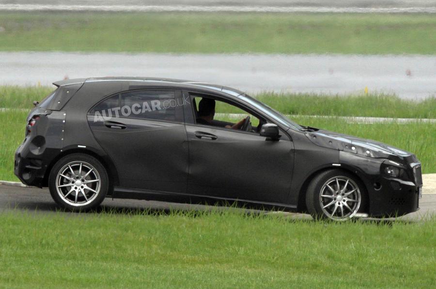 New Mercedes A-class - first pics