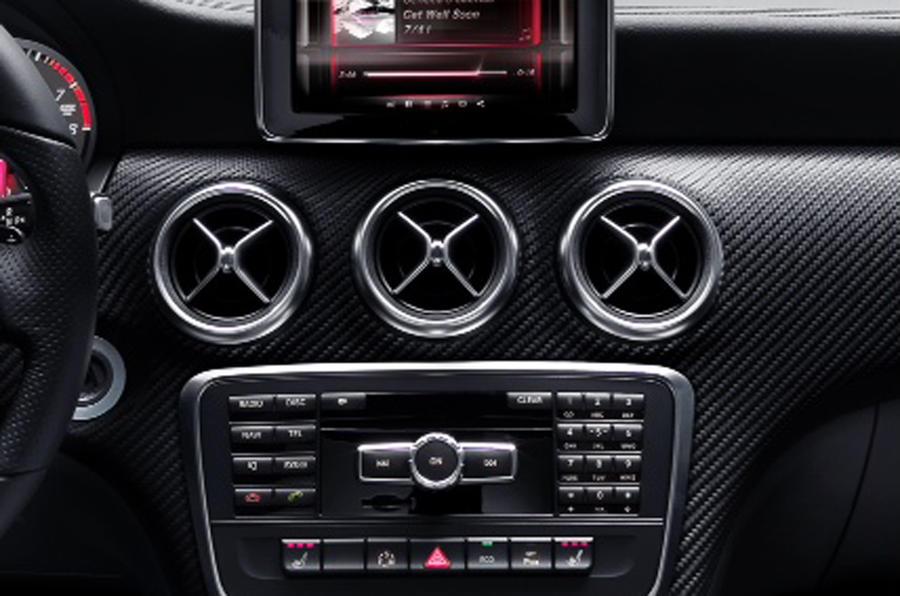 Mercedes A-class – first interior pics