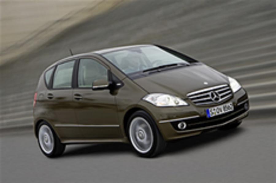 Mercedes confirms A-class plans