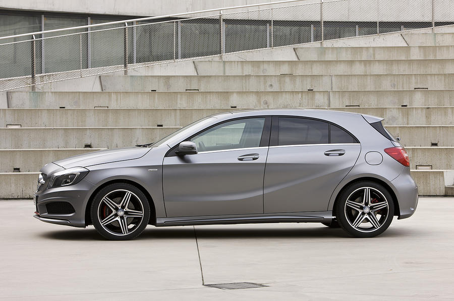 Merc A-class – full pic gallery