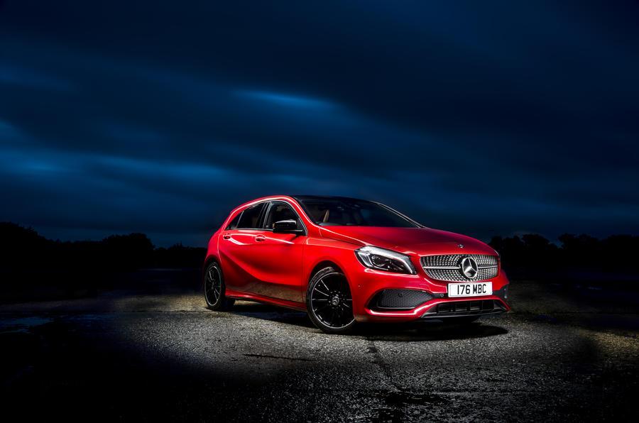 3.5 star Mercedes-Benz A-Class