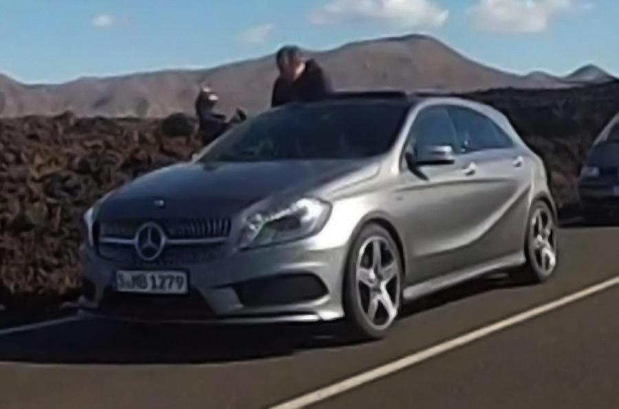 Geneva show: Mercedes A-class