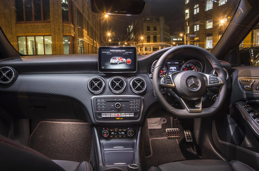 Perfect ... Interior; Mercedes Benz A Class Dashboard ...