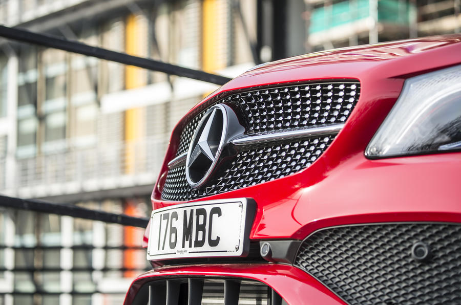 Mercedes-Benz A-Class front grille