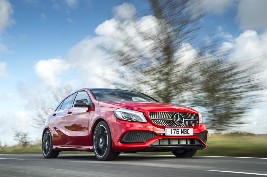 Mercedes-Benz A-Class review hero front