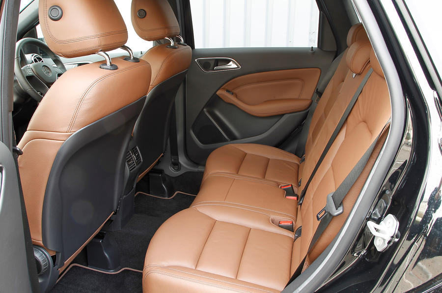 Mercedes-Benz B-Class rear seats