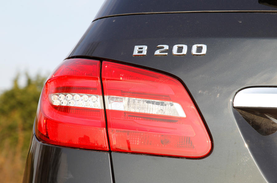 Mercedes-Benz B-Class rear light