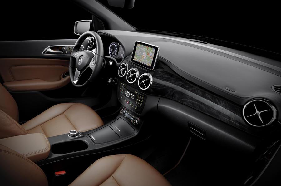 New B-class - first interior pics