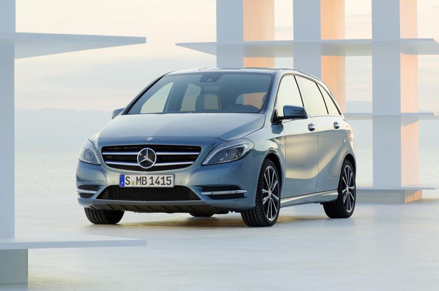 Frankfurt show - Mercedes B-class