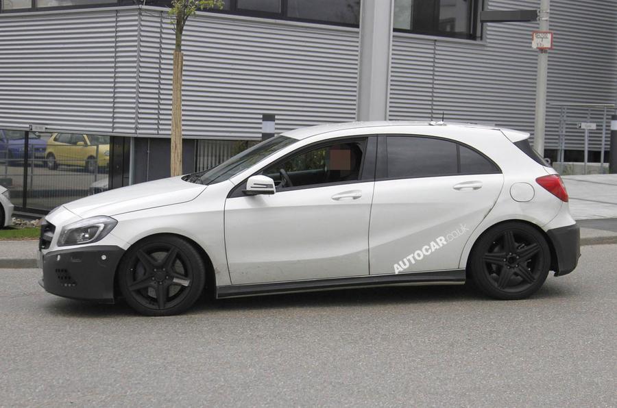 Mercedes A25 AMG: new spy pics