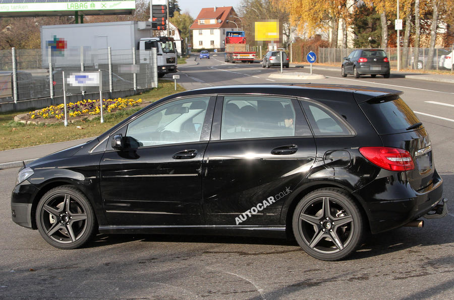B-class used to test smaller AMGs