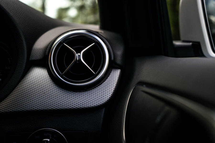 Mercedes-Benz B-Class air vent
