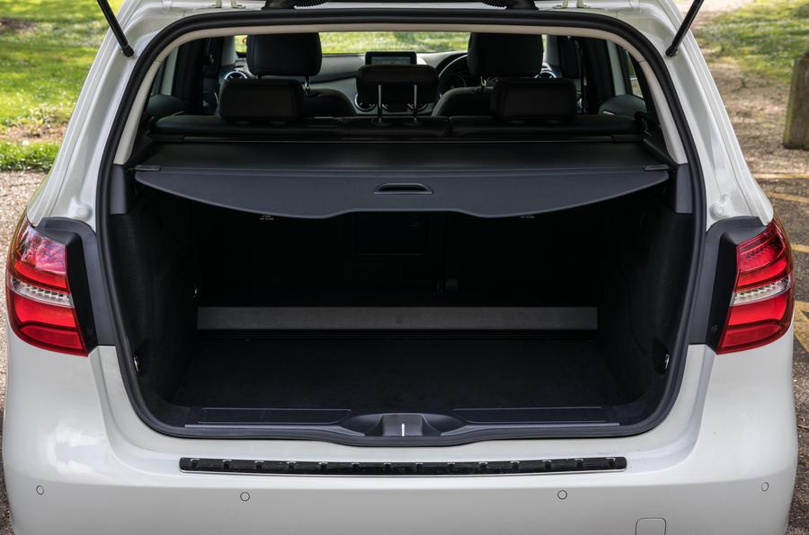 Mercedes-Benz B-Class boot space