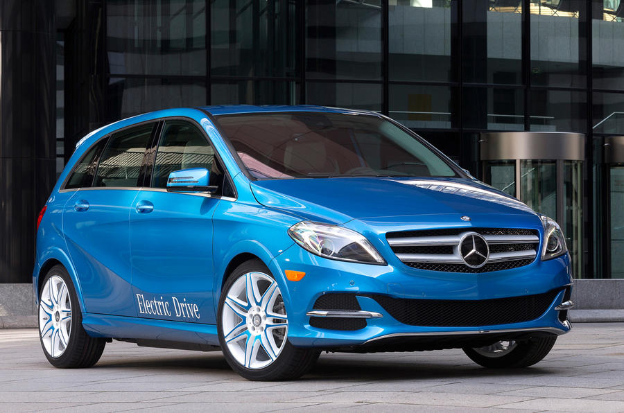 New york motor show mercedes benz b class electric drive for Class b electric motor