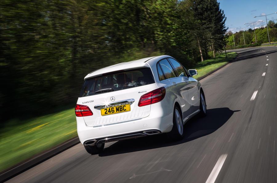 Mercedes-Benz B-Class rear
