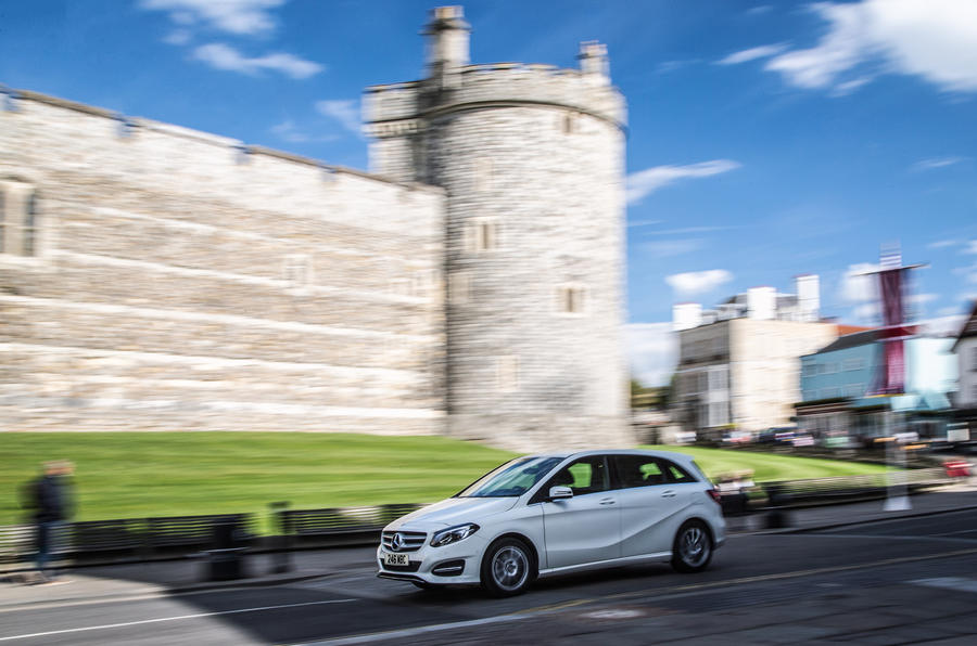 Mercedes-Benz B-Class side profile