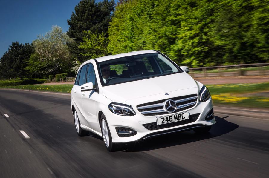 Mercedes benz b class review 2017 autocar for Mercedes benz b class range
