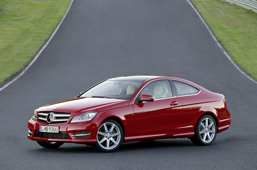 Geneva show: Mercedes C-class coupe