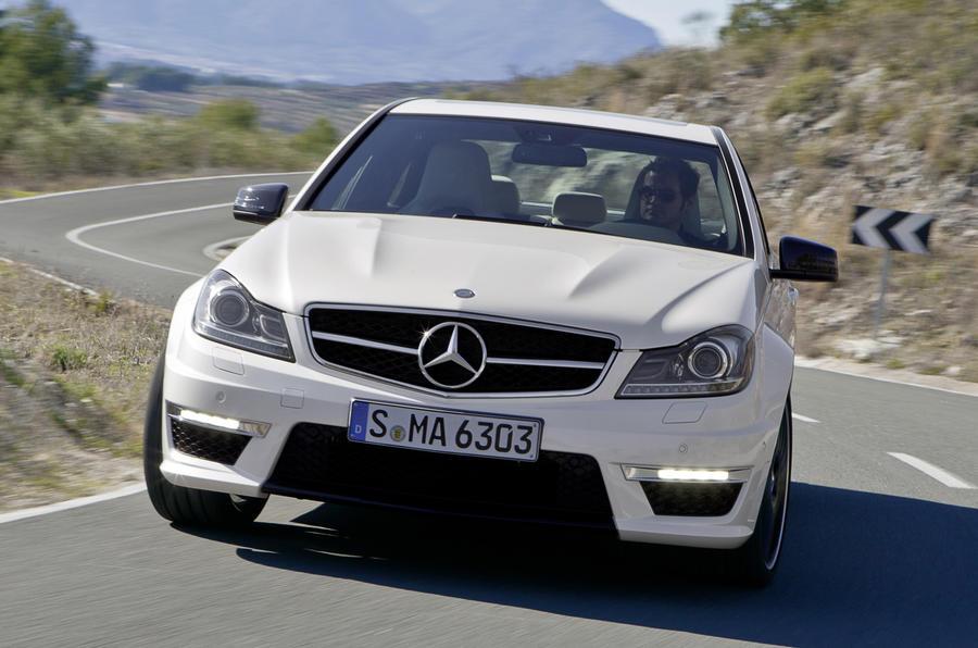 Geneva motor show: Mercedes C63 AMG