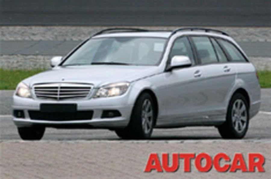 New c class estate breaks cover autocar for Mercedes benz c class car cover