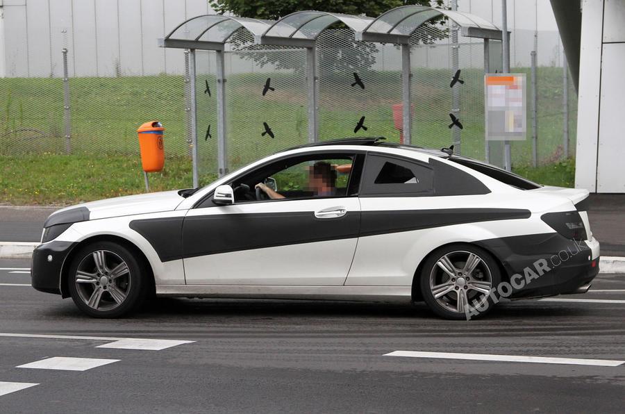 Mercedes C-class coupé - new pics