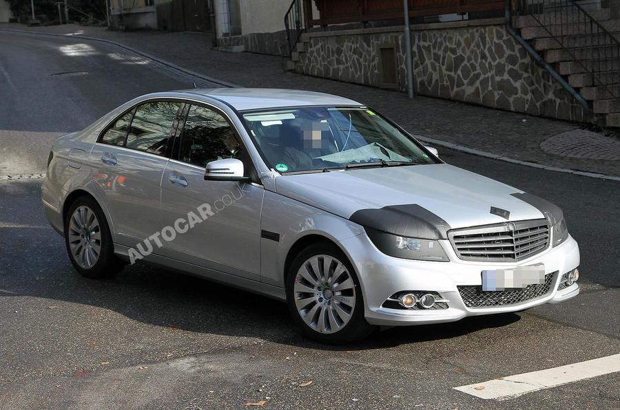 Merc C-class facelift - new pics