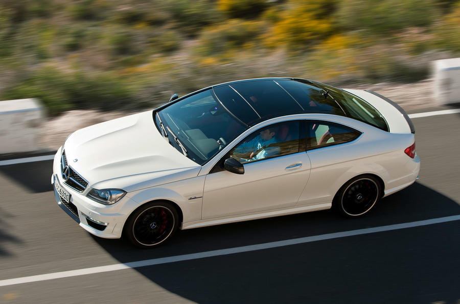 New York motor show: Merc C63 AMG coupe