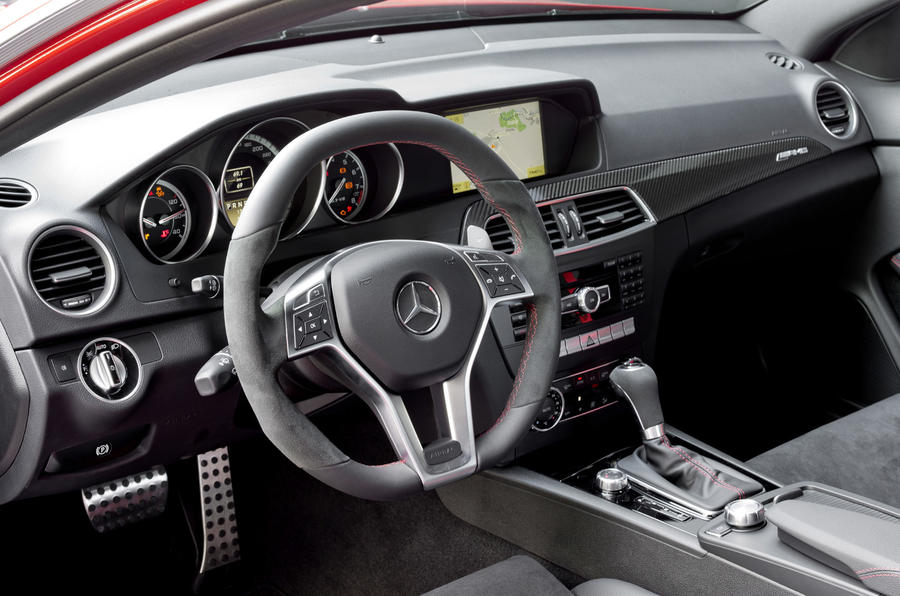 Merc C63 AMG Black Series revealed