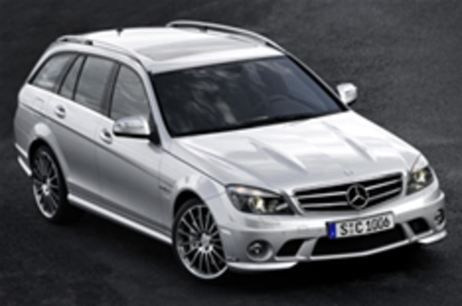 C63 Estate: it'll blow your wellies off