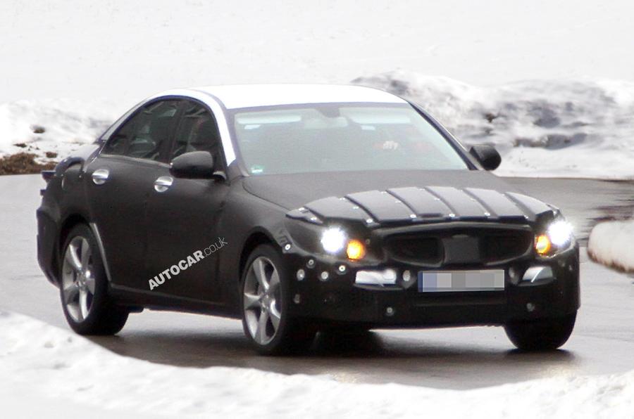 Spy pics: Mercedes C-class