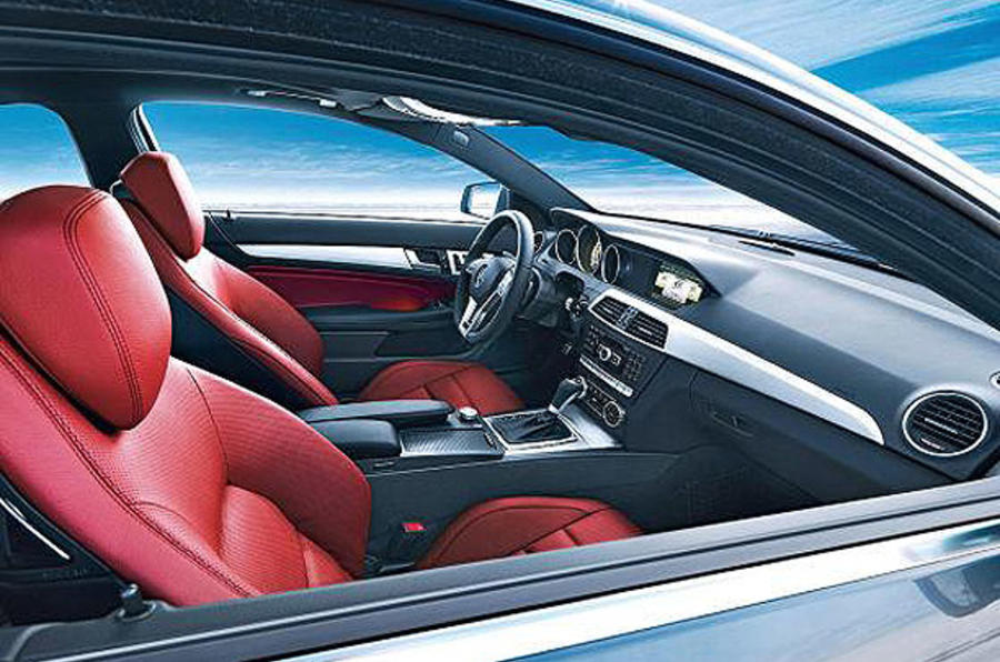 Geneva motor show: Merc C-class coupe