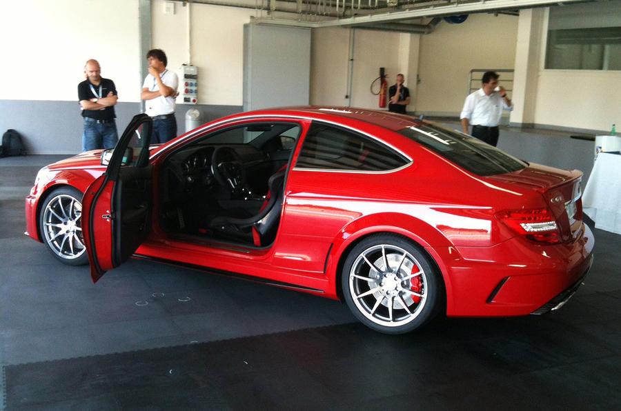 Merc C63 AMG Black Series leaked