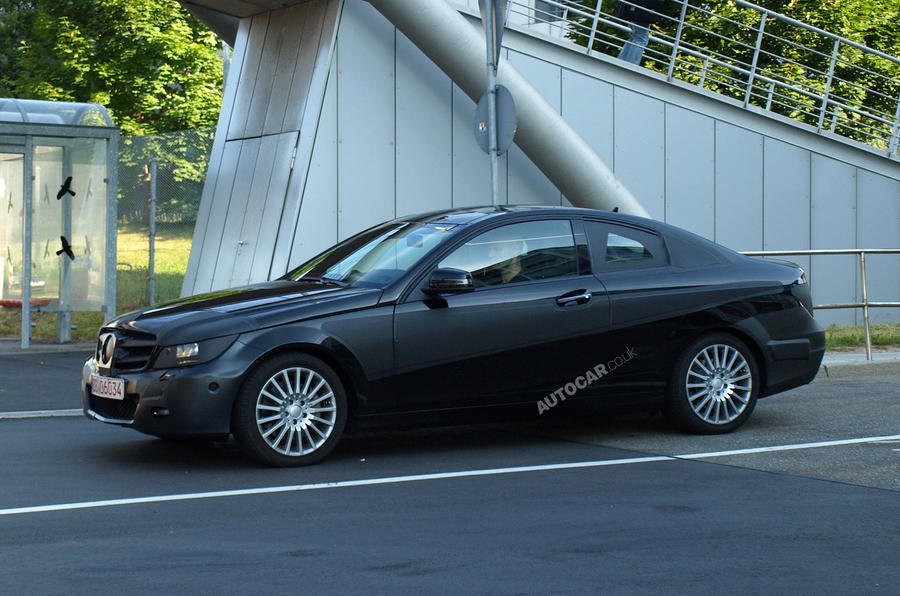 Mercedes C-class coupe: first pics