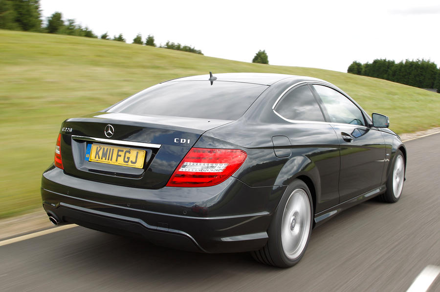 Mercedes-Benz C-Class Coupé rear quarter