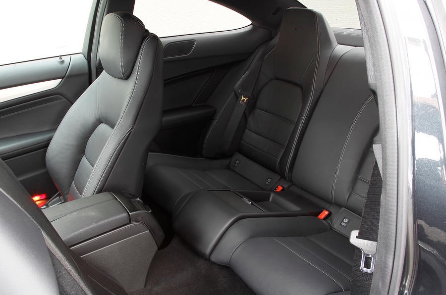 Mercedes-Benz C-Class Coupé rear seats