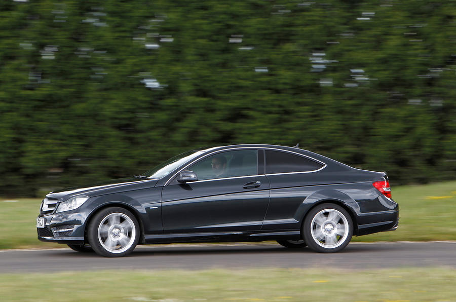 Mercedes-Benz C-Class Coupé side profile