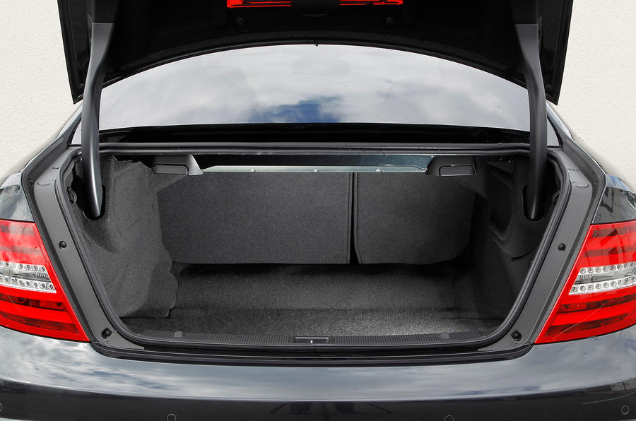 Mercedes-Benz C-Class Coupé boot space