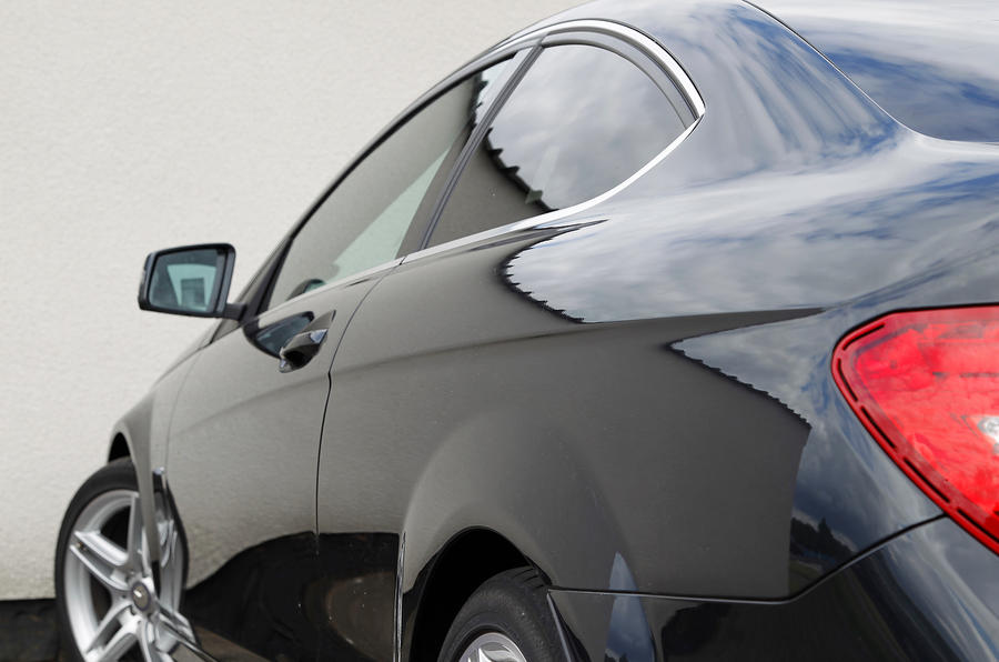 Mercedes-Benz C-Class Coupé profile