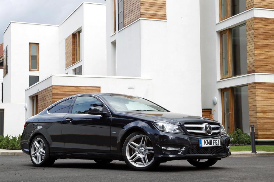 4 star Mercedes-Benz C-Class Coupé