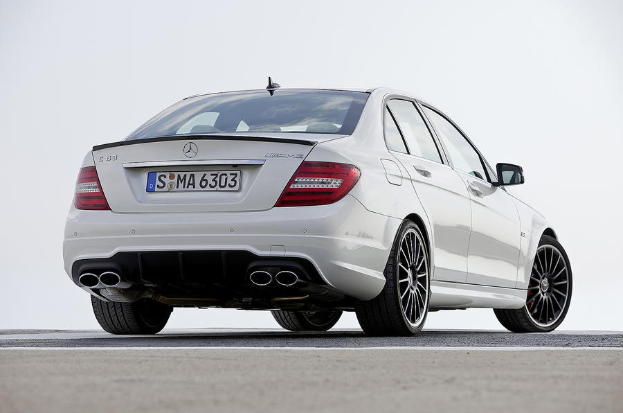 Mercedes-AMG C 63 rear quarter