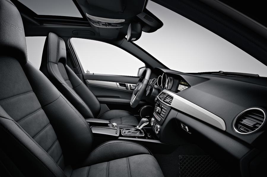 Mercedes-AMG C 63 interior