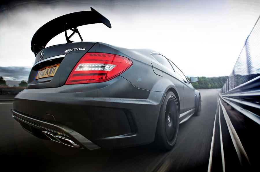 Mercedes-AMG C 63 Coupé rear