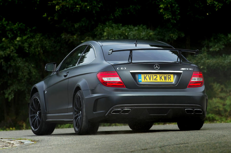 Mercedes-AMG C 63 Coupé rear cornering